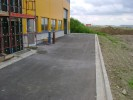 Győr - Czompa csarnok burkolatépítés